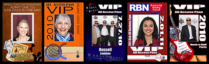 Photo Booth All Access Passes
